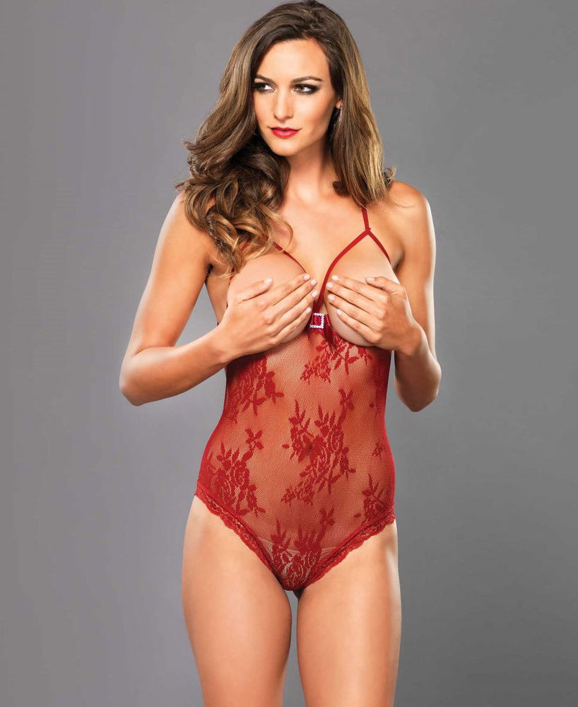 BODY TEDDY ROJO de LEG AVENUE
