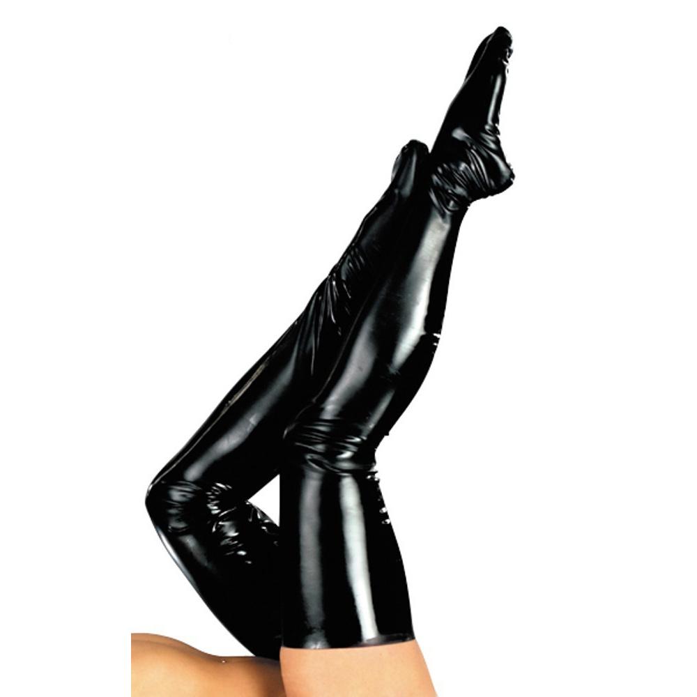 Medias de Látex Negras. ¡Enfunda tus piernas!