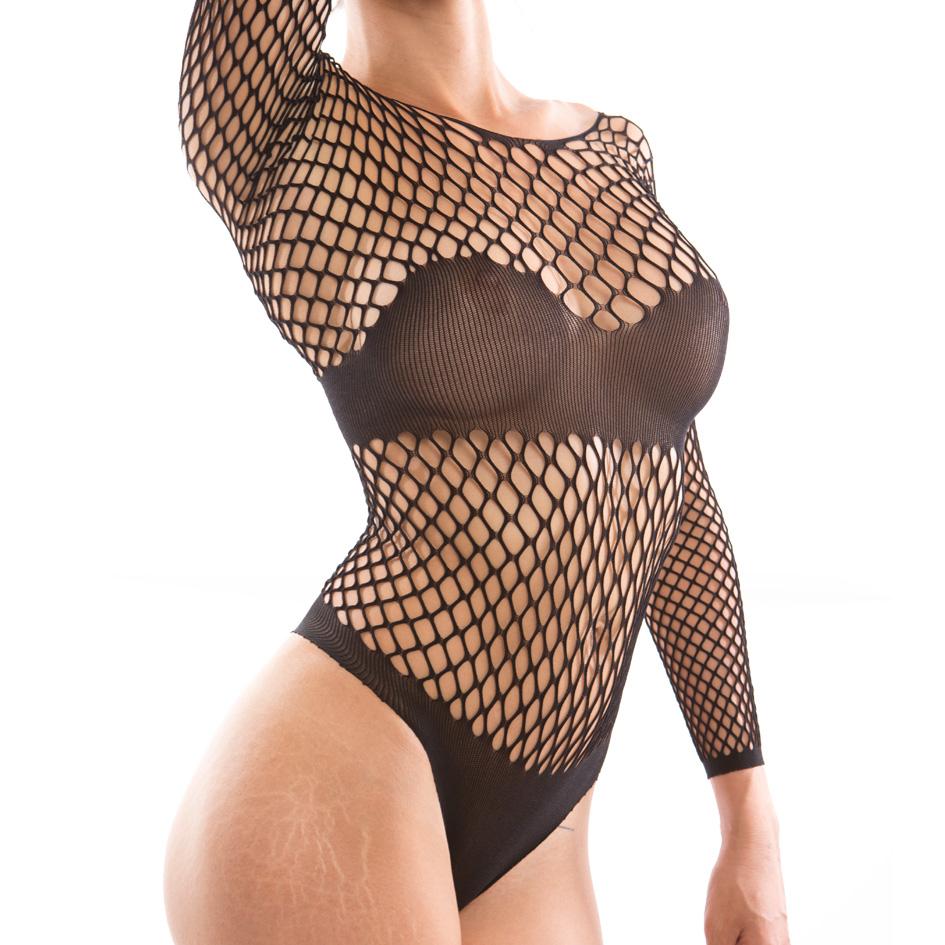 MYSTERY, body de rejilla super sexy