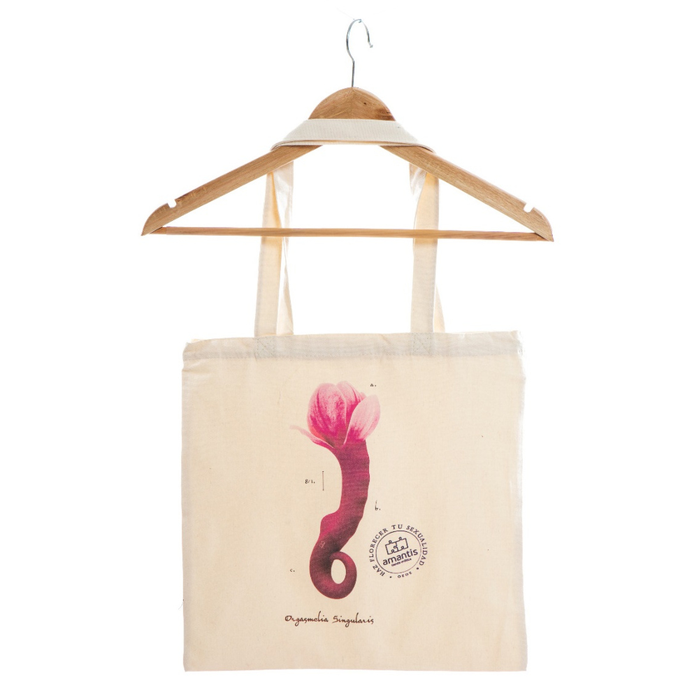 Bolsa algodón ORGASMELIA SINGULARIS, haz florecer tu sexualidad