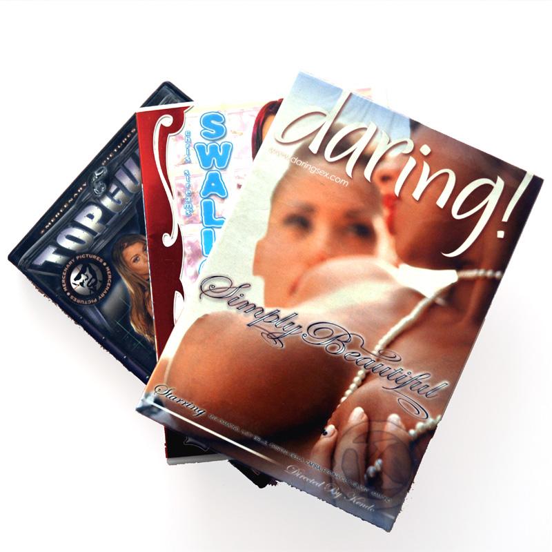 Pack de 3 películas a escoger, Hetero, Gay o Extremo