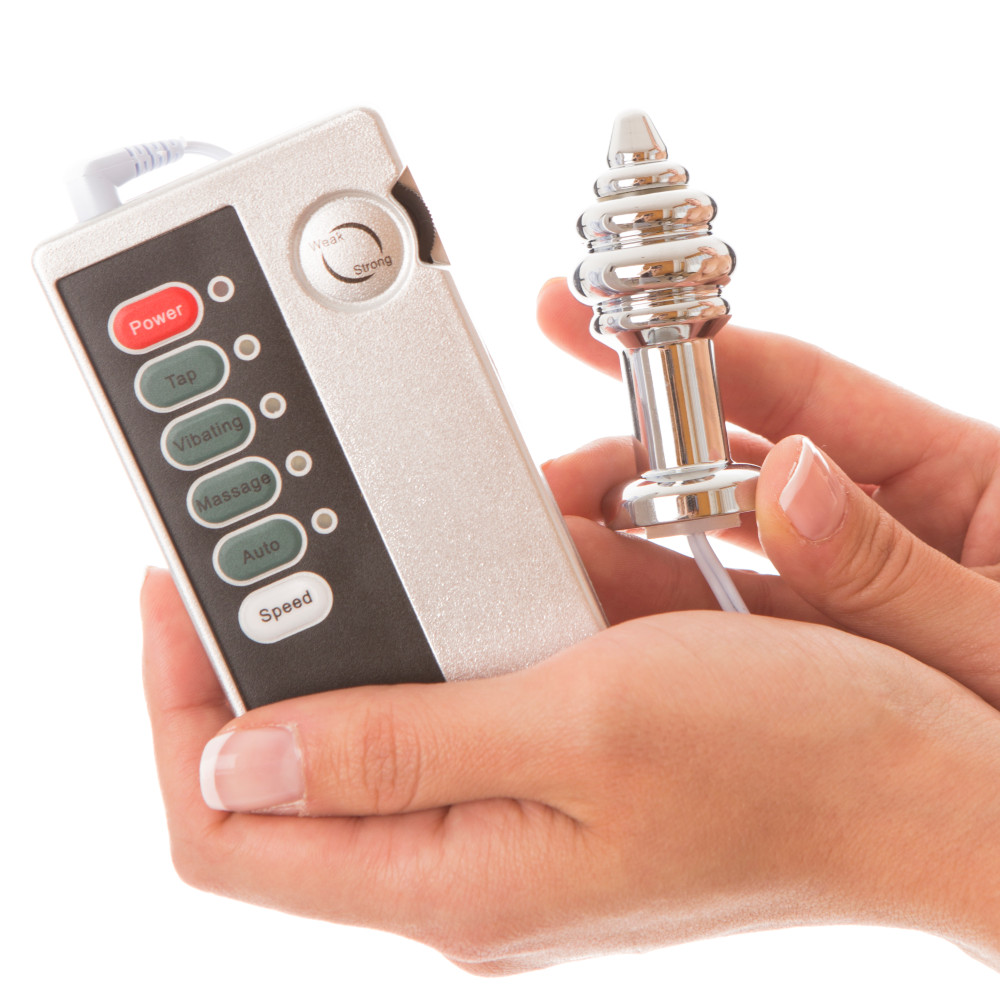 PIATTO, Plug anal con electro estimulación