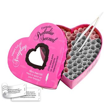 Corazón Preludio Sexual, ¡100 retos para ponerse a tono!