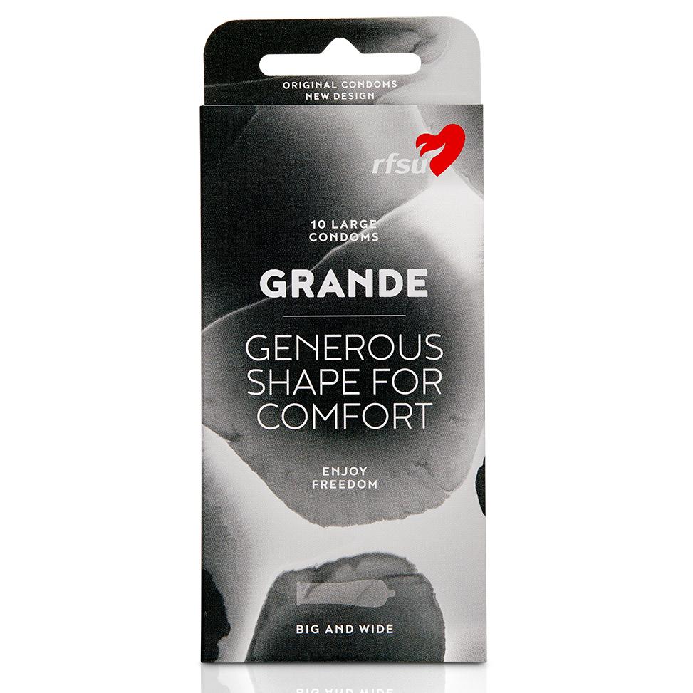 RFSU GRANDE, condón anatómico para glandes L