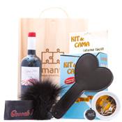 amantis deSire #1, pack de amarres y caricias con vino