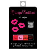 JUEGO ER�TICO 5 DADOS, para dos o m�s amantes