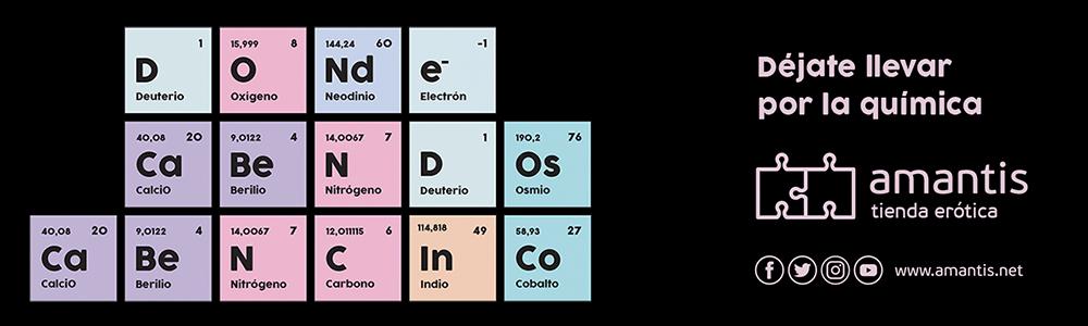 Déjate llevar por la Química amantis