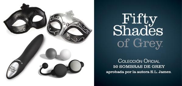 colección oficial 50 sombras de Grey