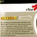 Okeido, el condón largo y espacioso