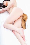 PLUG ANAL COLITA de ZORRO, elegante erotismo animal