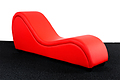 SESSE 360 RED, Chaise Lounge sexual de amantis
