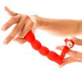 TRIS-TRAS, anilla con vibrador para doble penetración TRINITY