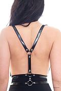 Arnés de cintura doble y cuello en V