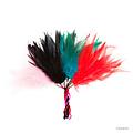 Cuerdita con plumas para caricias eróticas