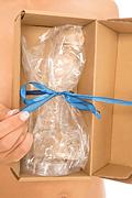 CRISTALINO XL, gran dildo transparente de 22cm