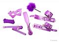 Kit de bondage púrpura de 7 piezas de amantis