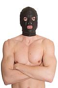 Pulp Fiction, máscara de cuero completa con vistas y boca