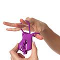 MOULIN RING, Anilla doble con molinillo de lengüitas