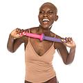 NIMBA, dildo de silicona con ventosa, flexible y juguetón