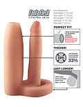 Funda para el pene de doble penetración
