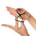 DURAMAS, Kit de anillas y correa de silicona Total X4