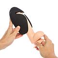 WARRIOR, suave casco vibrador para masaje integral